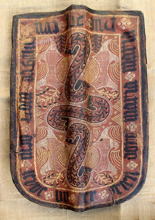 Gerichtsschild (Komotau), um 1400