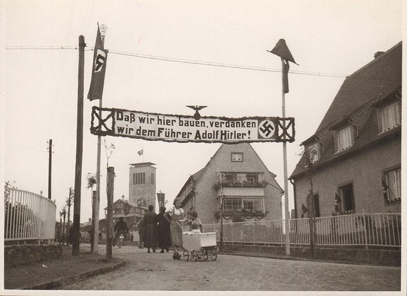 Einweihung der Walthersiedlung, Foro 1938 (privat)